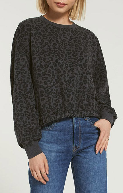 Z Supply Mason Leo Pullover Top ZT203626