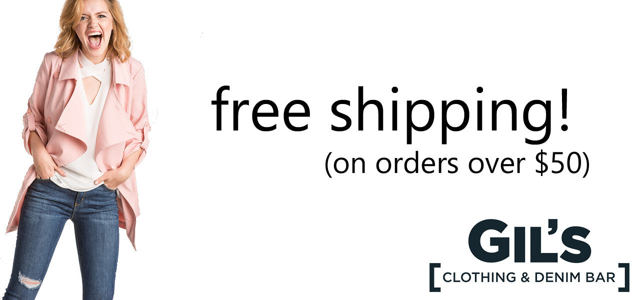Gil's Clothing Free Shipping over $50