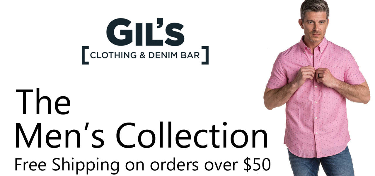 Gil's Clothing Men's Styles