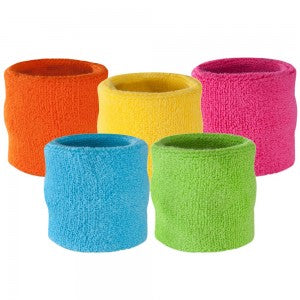 5 neon wristbands