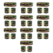 Bulk Camo Headband / Wristbands Set (10 Pack)