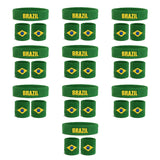 Bulk Country Sweatband Sets (10 Pack)