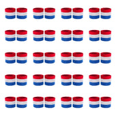 Bulk Kids Red White & Blue Wristband Pair (20 Pack)