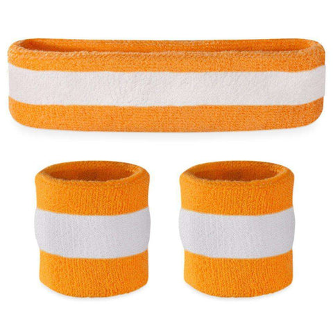 Striped Sweatbands Sets