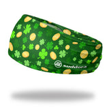 "St. Patrick's Day Headband (3.5"" Tapered)"