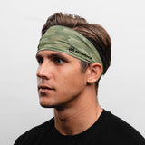 "Camo Headband (3.5"" Tapered)"