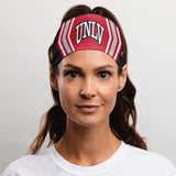 "University of Nevada-Las Vegas (UNLV) Headband (3.5"" Tapered)"