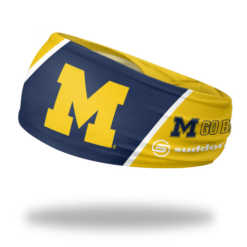 "University of Michigan Headband (3.5"" Tapered)"