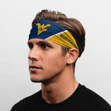 "West Virginia University Headband (3.5"" Tapered)"