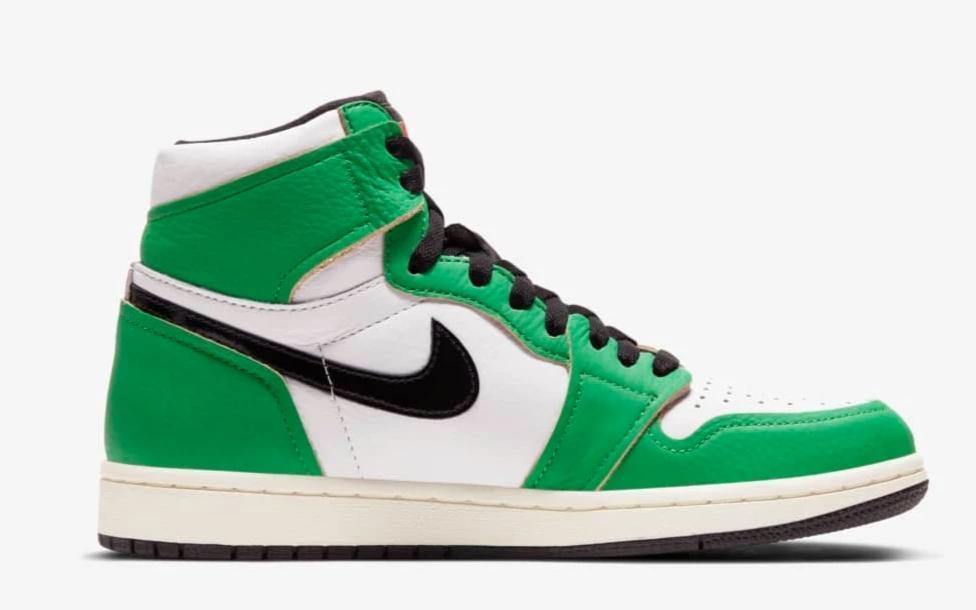 Jordan 1 Retro High 'Lucky Green' - Mad Youth