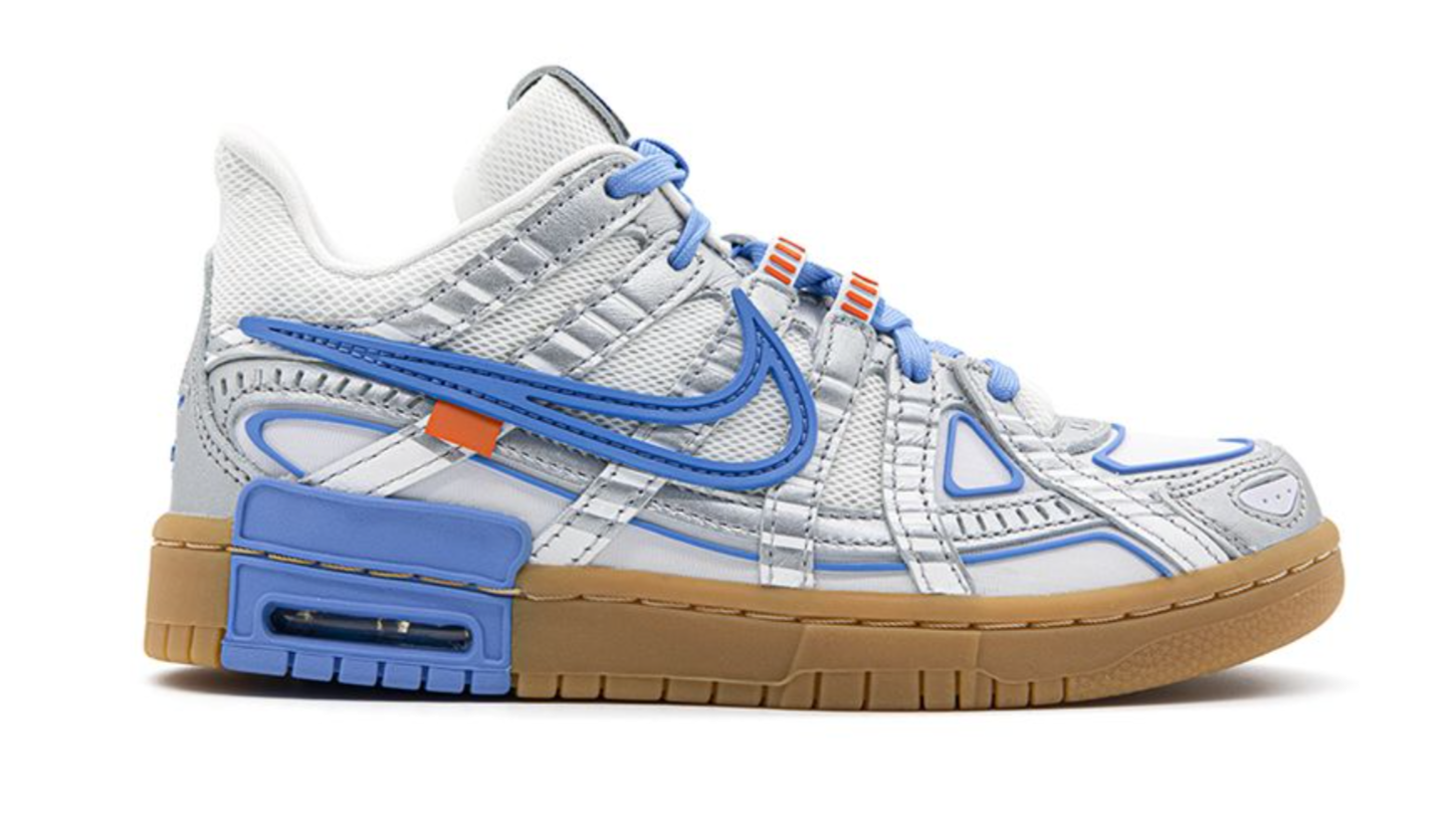 Rubber Dunk x Off White 'University Blue' - Mad Youth