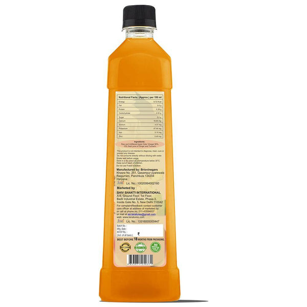 Apple Cider Vinegar with Ginger & Turmeric - 250ML