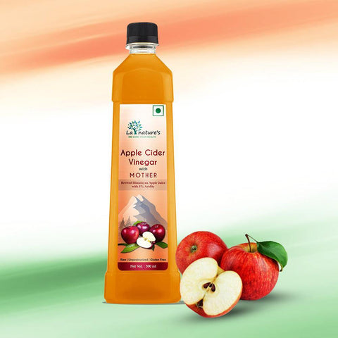 Apple Cider Vinegar with Mother - 500 ml - La Nature's