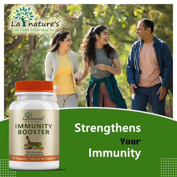 Immunity Booster & Gluco Care 500 MG | Combo Pack