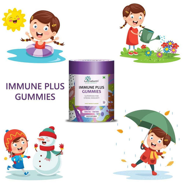 Buy IMMUNE PLUS GUMMIES (30 Gummies) -  Vitamin & Supplement in India