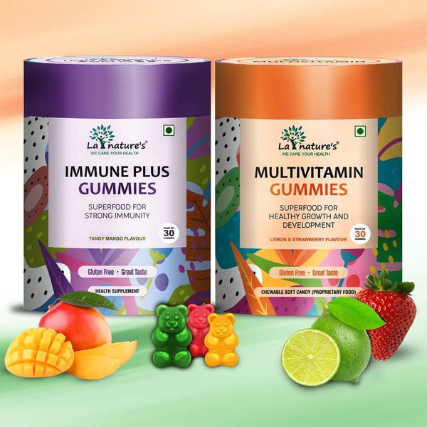 Immune Plus & Multivitamin Gummies