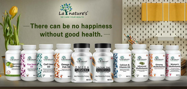 La Nature's Nutraceuticals range