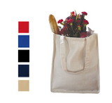 Wholesale Cotton Canvas 12 OZ Tote Bag with Gussets, Tote Bags