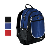 Carbon Poly Backpack with Headphone Exit Port, backpack