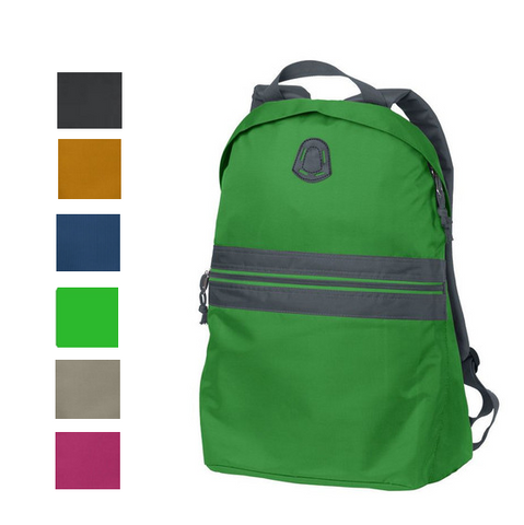 Roomy Teardrop Shaped Backpack, backpack