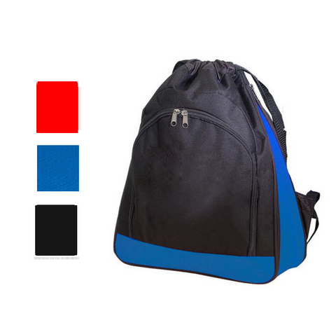 Wholesale Deluxe Polyester Drawstring Backpack, Cinch Pack