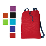 100% Cotton Canvas Drawstring Bag / Cinch Pack, Cinch Pack