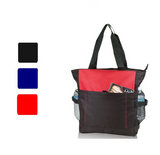 Multi Pocket Polyester Tote Bag, Tote Bags