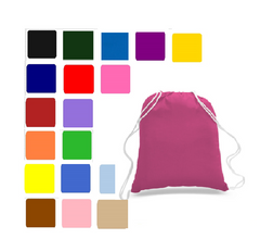 Wholesale Drawstring Canvas Bags, Backpacks & Canvas Cinch Packs