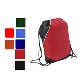 Two-Toned Polyester Drawstring Bag / Cinch Pack, Cinch Pack