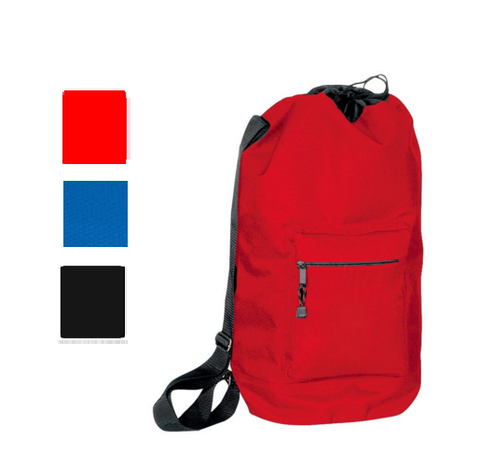 Tall Drawstring Bacpack with Adjustable Shoulder Straps, Cinch Pack