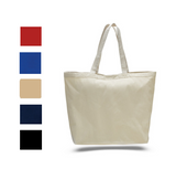 Wholesale Canvas Tote Bag with Velcro Closure, Tote Bags
