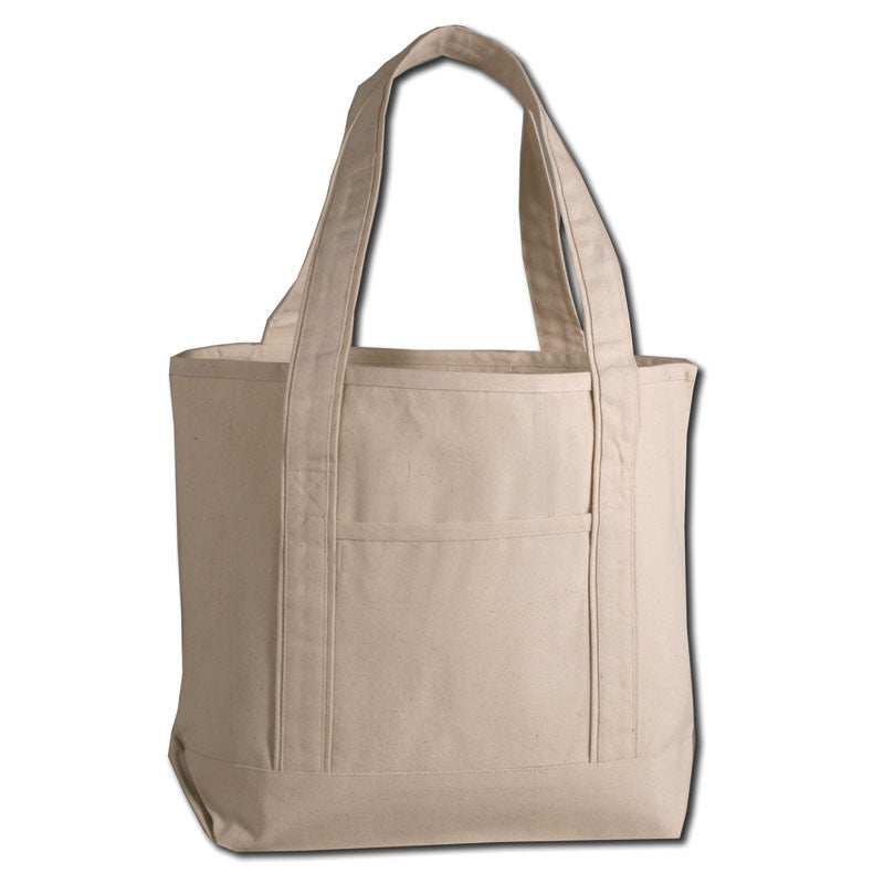 Large Deluxe Canvas Tote Bag, Tote Bags