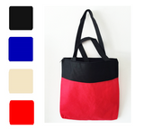 Thin Zipped None-Woven Tote Bag, Tote Bags