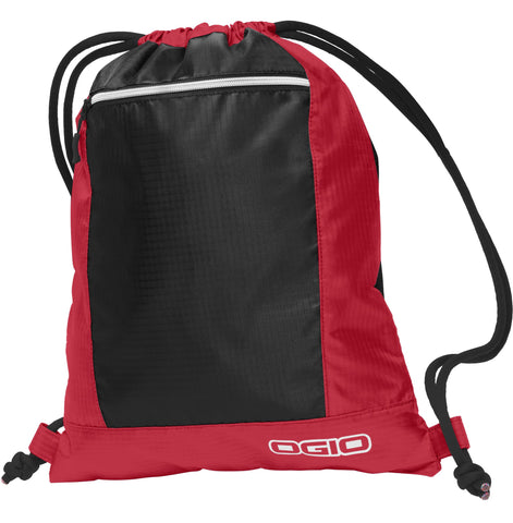 Deluxe Poly Drawstring Backpack, Cinch Pack