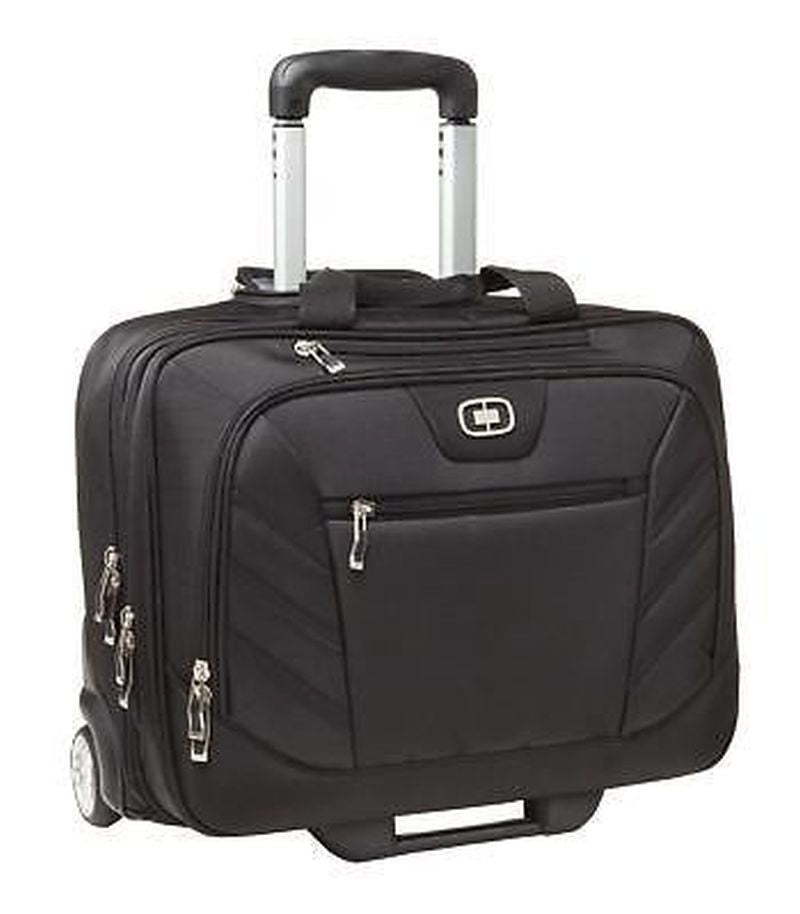 Wheeled Briefcase for Business travel laptop, Briefcase Messenger Bags