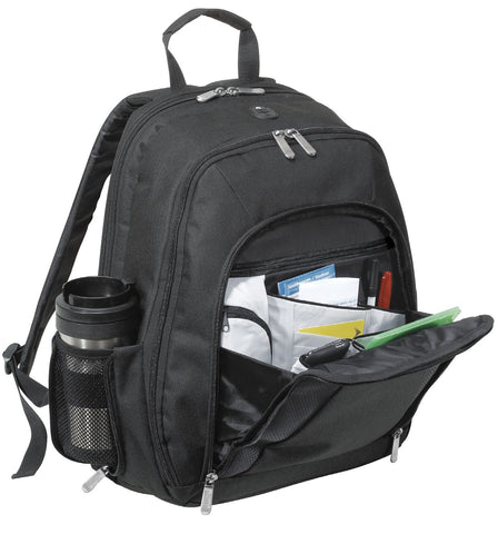 Quick-Pass Audio Backpack with Headphone Exit, backpack