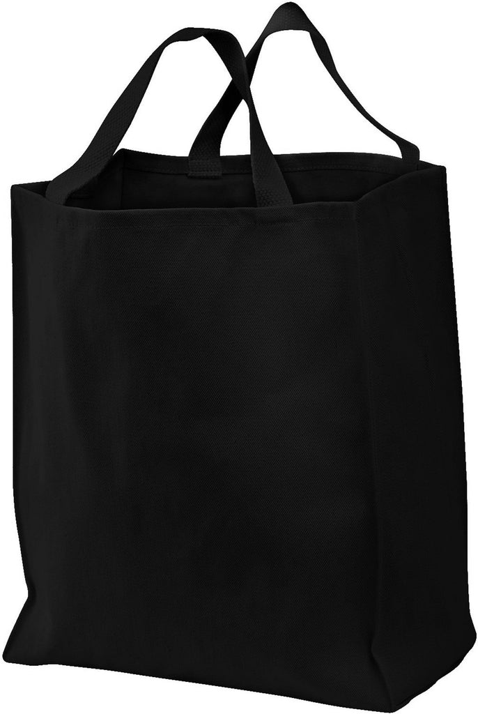 Wholesale Cotton Grocery Tote Bag with Wide Bottom, Tote Bags