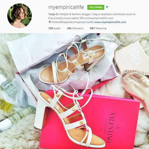 My Empirical Life Tanja G Lifestyle & fashion blogger sleeps with slip silk pillowcase and sleep mask