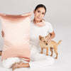 Rose Gold Queen Zippered Pillowcase