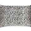 Pillowcase - Black + White Leopard - King - Zippered