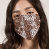 Face Covering - Rose Leopard