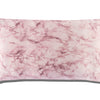 Pink Marble King Zippered Pillowcase