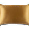 Gold Queen Zippered Pillowcase