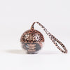 ROSE LEOPARD HOLIDAY BAUBLE