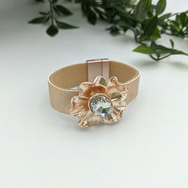 Hazel Rose Gold Magnetic Bracelet