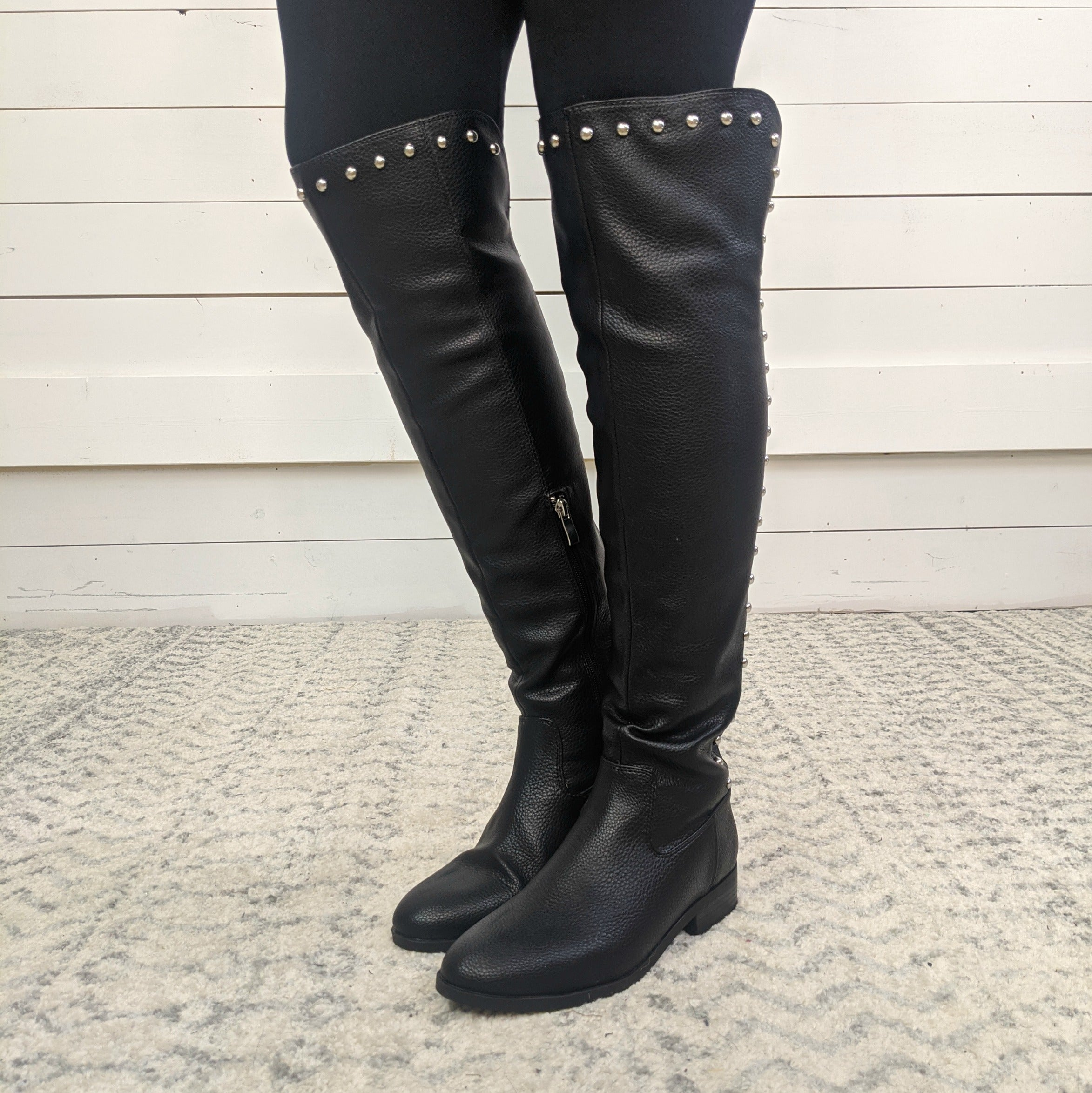 Sybelle Studded Tall Boots - Retail $69 *Final Sale*