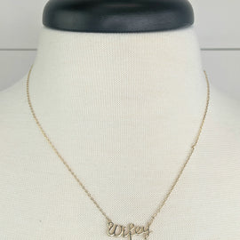 Wifey Gold Necklace