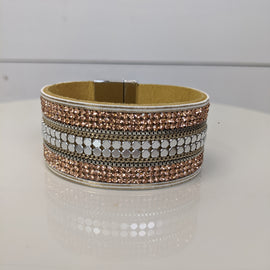 Rose Gold Show Stopper Magnetic Bracelet