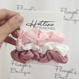 Hotline Hair Scrunchies - Ballerina