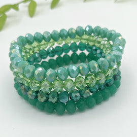Henley 4ct Beaded Bracelet - Green
